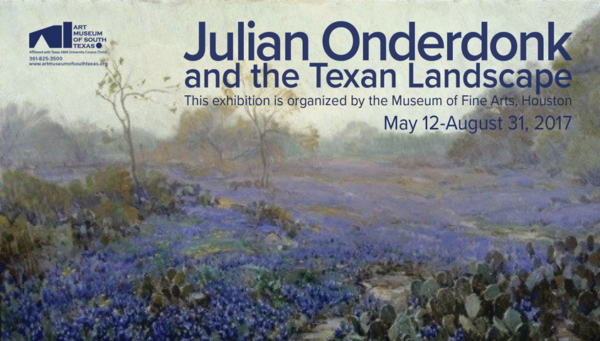 Exhibition Opens to the Public: Julian Onderdonk and the Texan Landscape @ The Art Museum of South Texas (AMST) | Corpus Christi | Texas | United States