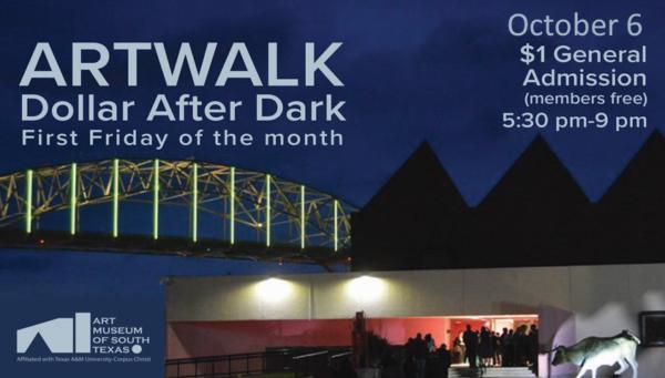 ARTWALK Dollar After Dark @ The Art Museum of South Texas