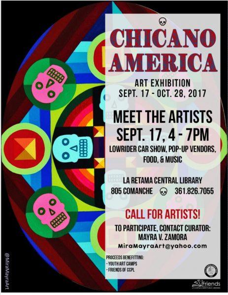 Chicano America Exhibition @ La Retama Central Library