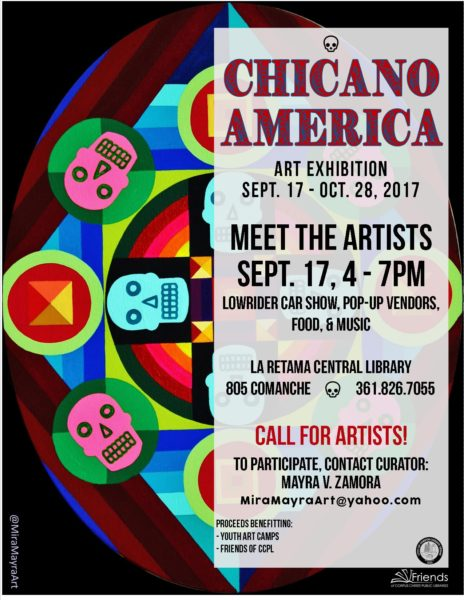 Chicano America Exhibition @ La Retama Central Library | Corpus Christi | Texas | United States