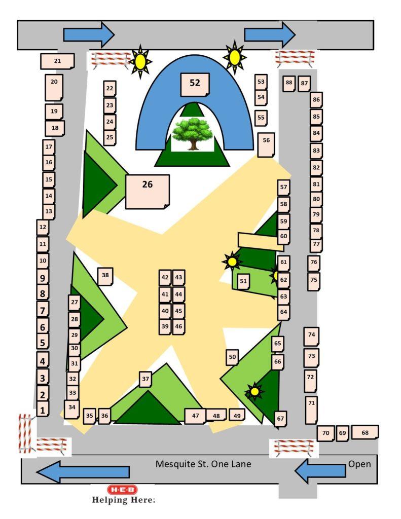 December ArtWalk Map