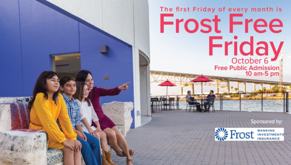 FROST FREE FIRST FRIDAY @ The Art Museum of South Texas