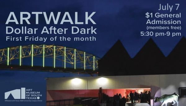 ARTWALK Dollar After Dark @ Art Museum of South Texas | Corpus Christi | Texas | United States
