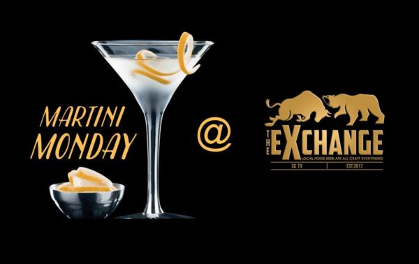 Martini Mondays At The Exchange @ The Exchange Corpus Christi | Corpus Christi | Texas | United States