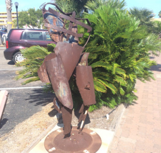 Downtown Corpus Christi Water Street Sculpture