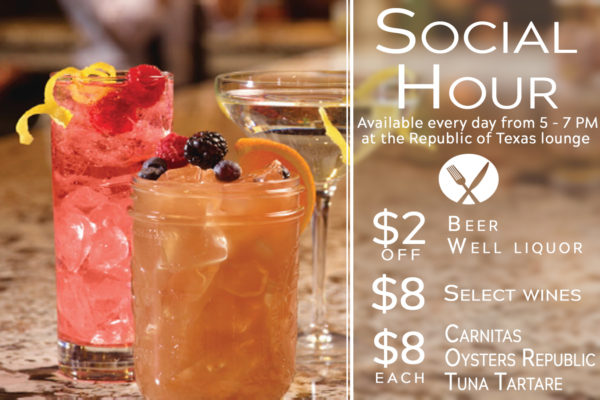 Social Hour @ Republic of Texas Bar & Grill | Corpus Christi | Texas | United States