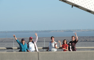 Harbor Bridge Walker Family