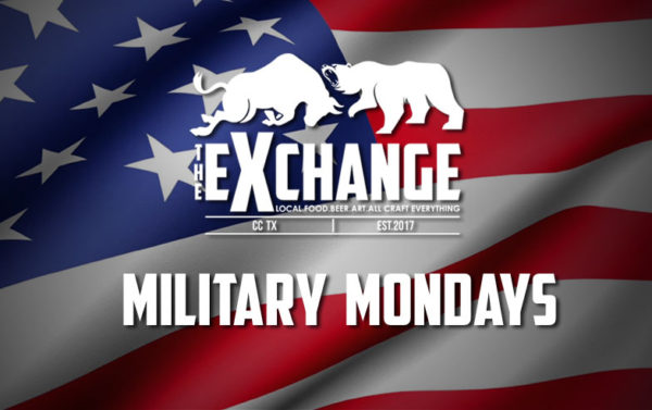 Military Monday Launch at The Exchange @ The Exchange | Corpus Christi | Texas | United States